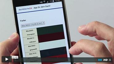 Video-Anleitung zur Bestellung samt Zubehör mit unserer APP