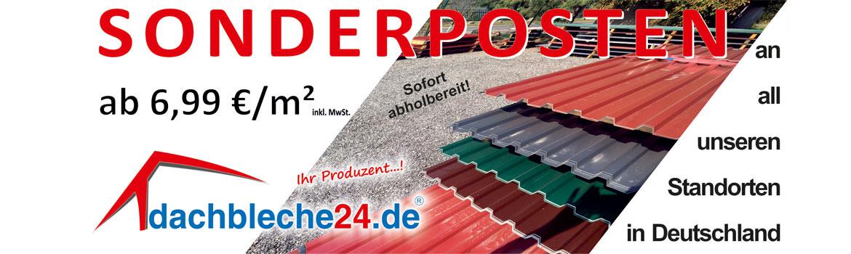 Sonderposten an all unseren Standorten in Deutschland ab 6,99 €/m²